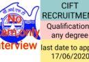 CIFT Recruitment